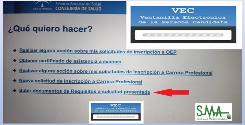 Habilitada la posibilidad de subir requisitos a la VEC para la inscripción en la OEP.