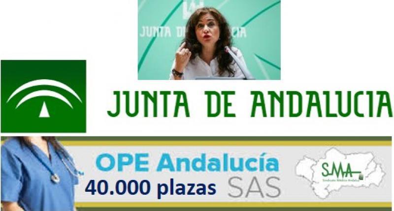 Anuncian una próxima OPE de 40.000 plazas en Andalucía. Ojalá...