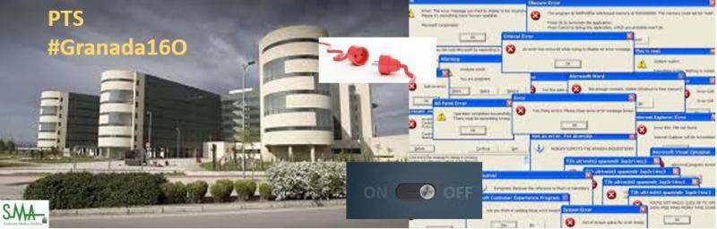 Un fallo de internet bloquea el Hospital del PTS durante más de dos horas.