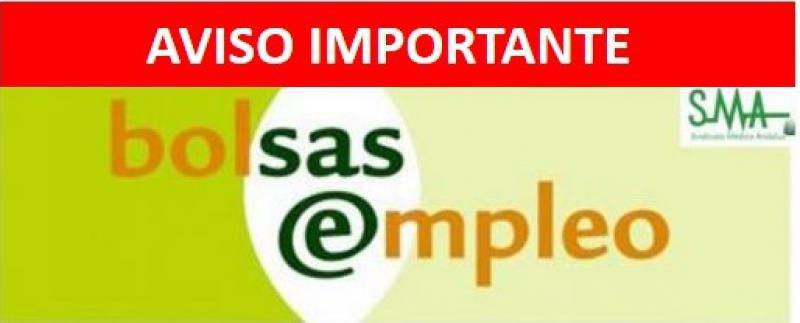 Aviso sobre Bolsa del SAS. Se abre plazo extraordinario de actualización de centros.