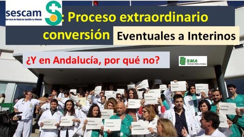 Acordado en Mesa Sectorial: Castilla-La Mancha convertirá en interinos a 1.400 sanitarios eventuales.