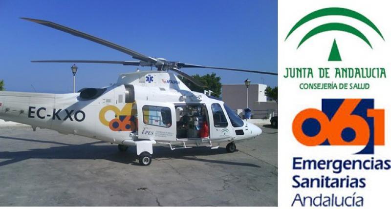 Pregunta parlamentaria acerca de los motivos para suspender el helicóptero del 061 en Cádiz.