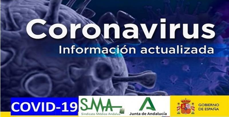 Información actualizada para los profesionales del Sistema Sanitario Público Andaluz sobre Covid-19