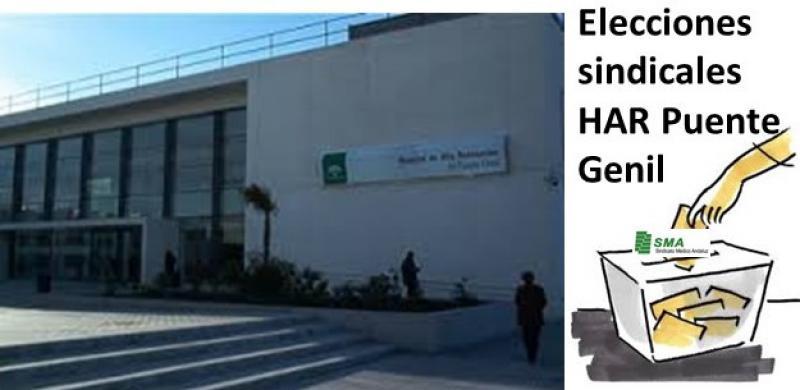El SMA estará presente en el Comité de Empresa del HAR Puente Genil para defender a los médicos.
