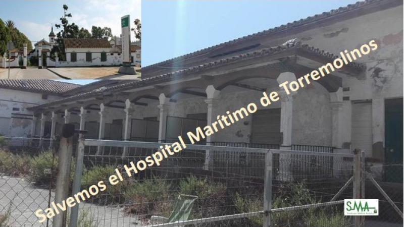 Firmas para salvar el Hospital Marítimo de Torremolinos.