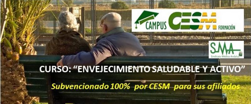 """Campus CESM Formación: Primera edición del curso """"Envejecimiento saludable y activo"""""""