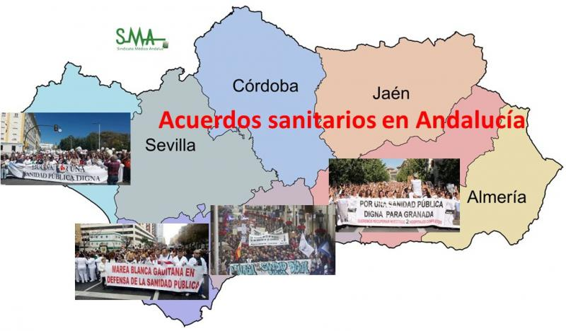 Cuatro provincias andaluzas pendientes de cómo evolucionan los acuerdos sanitarios.