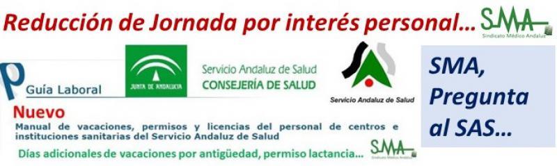 Respuesta de la administración sobre reducción de jornada por interés personal: máximo el 10%.