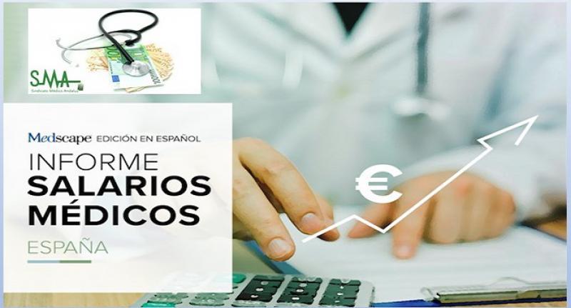 El salario del médico español, casi un 60% más bajo que en la UE.