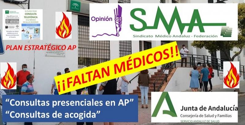 La atención primaria 'arde' en Andalucía: el problema no es la telemedicina, falta personal.
