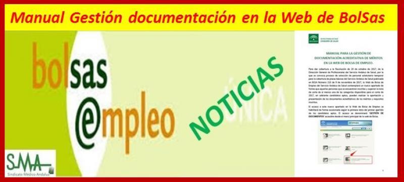 Manual de Bolsa SAS para aportación de nuevos documentos.