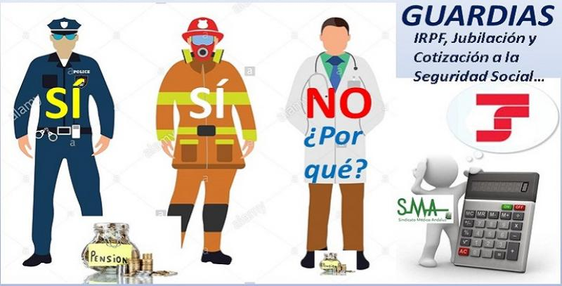 Los médicos 'pierden' 14.400 euros anuales por no poder cotizar guardias.