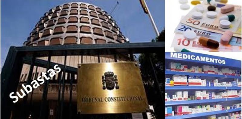 El TC rechaza el recurso del Gobierno contra la subasta de medicamentos en Andalucía.