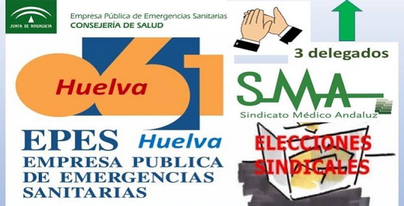 El Sindicato Médico Andaluz gana las elecciones en EPES-061 en Huelva. ¡Lo volvemos a conseguir!
