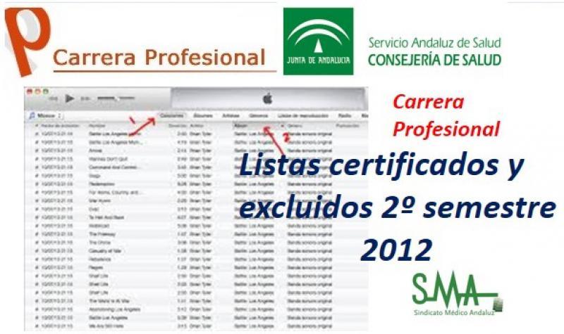 El SAS cierra la certificación de la carrera de 2012