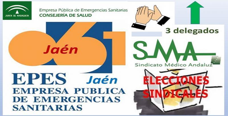 Éxito del SMA en las elecciones de la EPES-061 en Jaén.