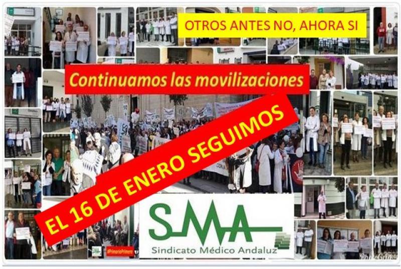 Antes y ahora el SMA seguirá defendiendo los intereses de los facultativos andaluces. Otros no. Que no os engañen.
