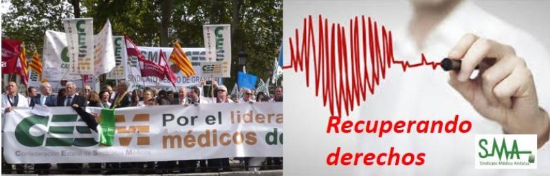 """Los médicos de cara a 2017: """"Queremos recuperar los derechos que no recuperamos en 2016""""."""