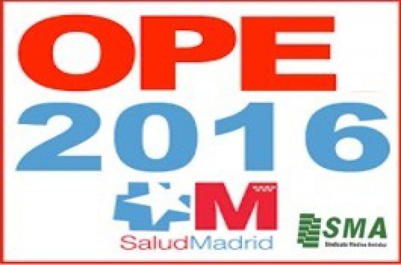 Madrid convoca la OPE 2016 con 400 plazas médicas.