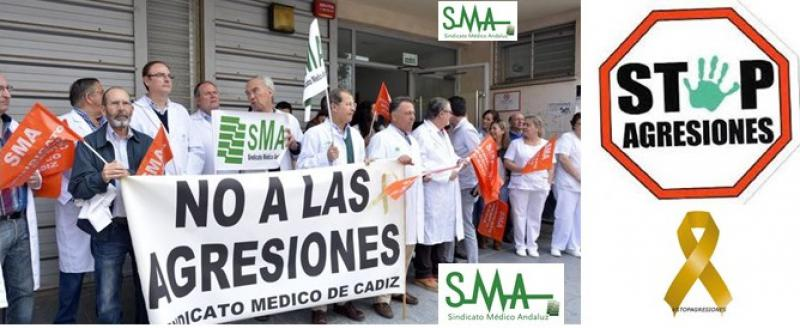 El Sindicato Médico de Cádiz solicita medidas por la desprotección ante las agresiones.