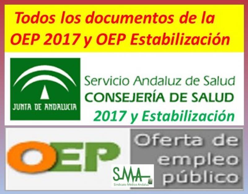 Todos los documentos relacionados con la OEP 2017 y OEP de Estabilización.