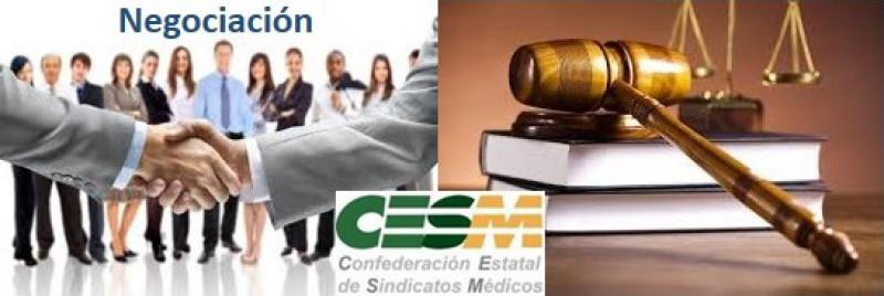 CESM aboga por compaginar la vía judicial con la negociación política para revisar la contratación temporal.
