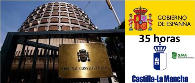 El gobierno recurre la jornada de 35 horas al T. Constitucional.