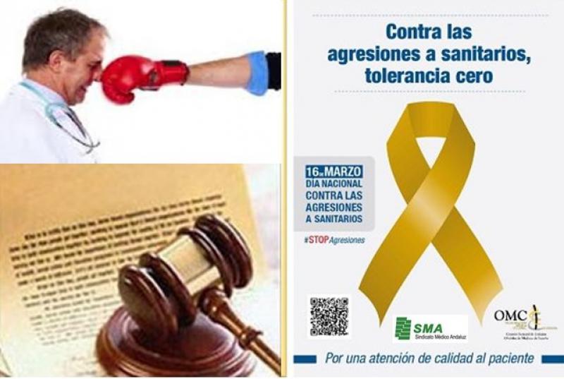 Contra las agresiones a sanitarios: Tolerancia cero. Concienciar a la sociedad y confianza en la Justicia.