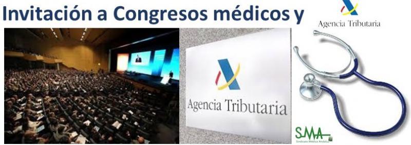 Hacienda aclarará si el médico debe declarar las invitaciones a congresos.