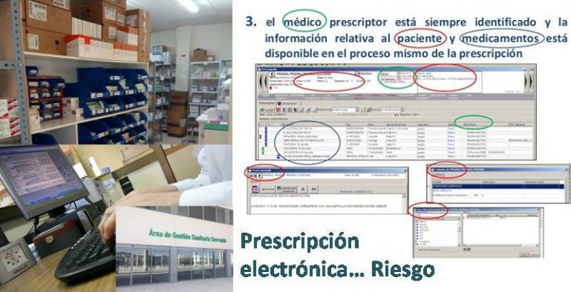 El Sindicato Médico denuncia que el Hospital de Ronda está poniendo en riesgo a los pacientes por deficiencias en la prescripción electrónica de los medicamentos.