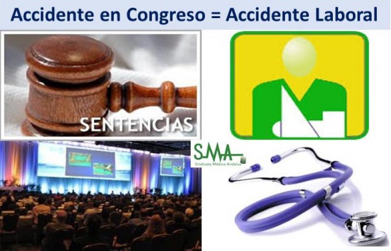 """El accidente sufrido durante un congreso es """"de trabajo""""."""