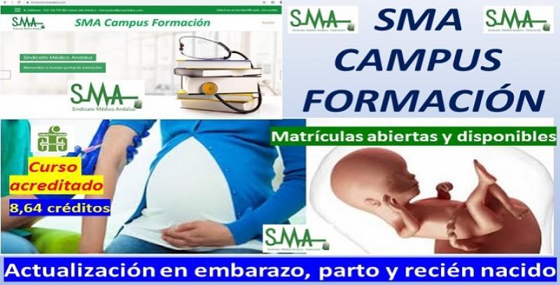 Nuevo curso de formación acreditado: actualización en embarazo, parto y recién nacido.