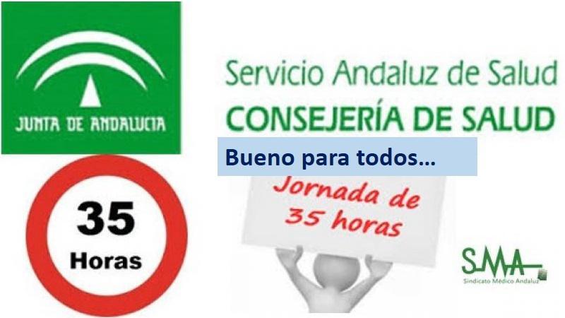 Andalucía recupera la jornada laboral de 35 horas. Bueno para todos...
