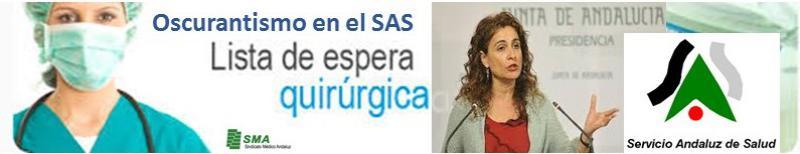 El Servicio Andaluz de Salud lleva un año sin publicar las listas de espera para operarse.