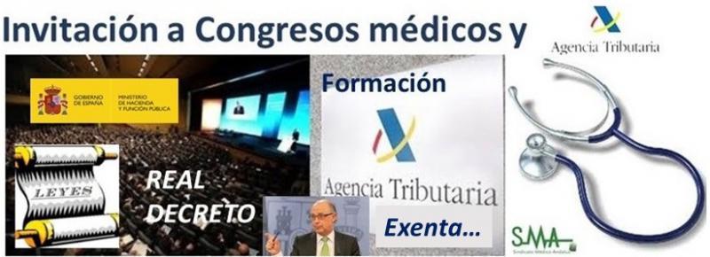 Oficial: el médico no tributará al ser invitado a congresos por la industria.