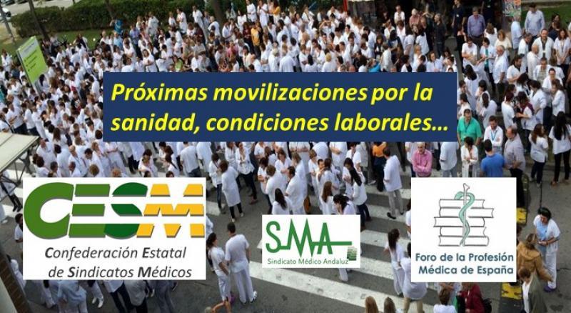 El Foro de la Profesión Médica apoya las protestas anunciadas por CESM para el primer trimestre.