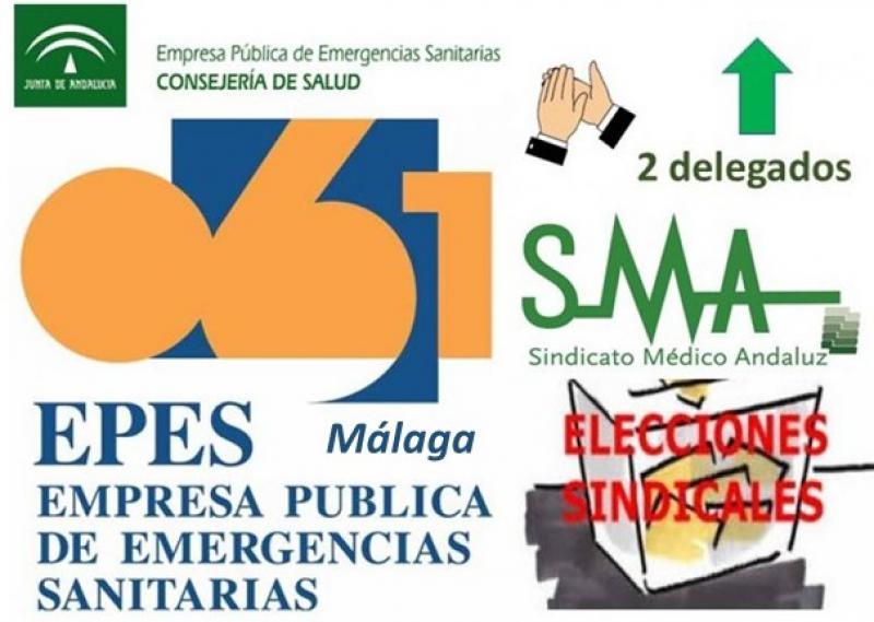Éxito del SMA en las elecciones de la EPES-061 en Málaga.