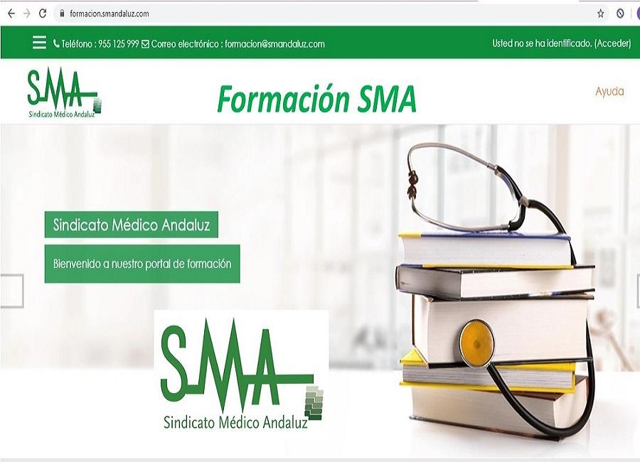 Accede aquí a la plataforma de Formación del Sindicato Médico Andaluz