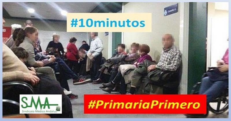 Primaria dice ¡Basta! «Exigimos 10 minutos de consulta frente a los 3-5 actuales».