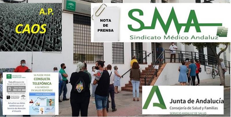 El Sindicato Médico Andaluz ante la grave situación de la Atención Primaria.