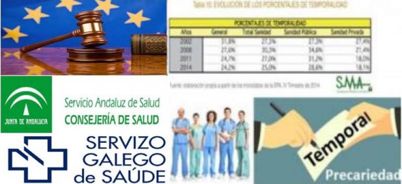 Andalucía y Galicia negocian la estabilización de eventuales.
