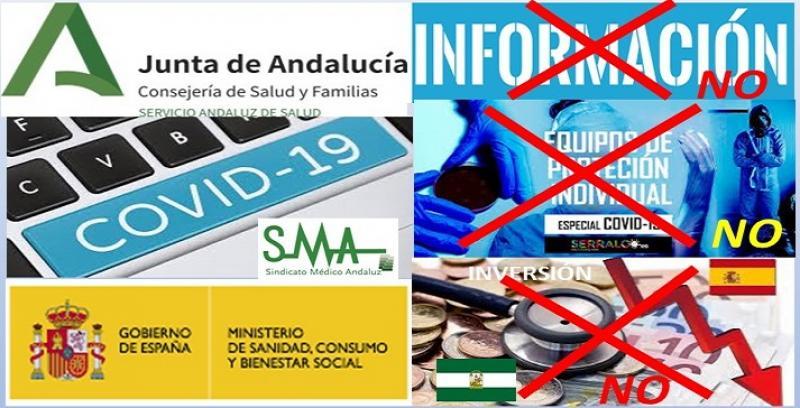 El Sindicato Médico Andaluz denuncia la falta de