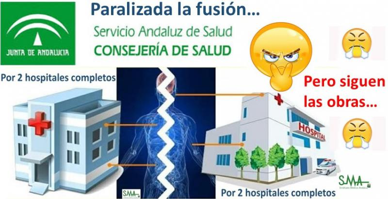 Sanidad confirma que paraliza la fusión hospitalaria en Granada, pero siguen las obras...