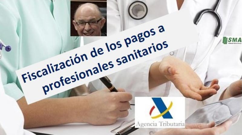 Hacienda reclamará impuestos por pagos a médicos desde 2012.