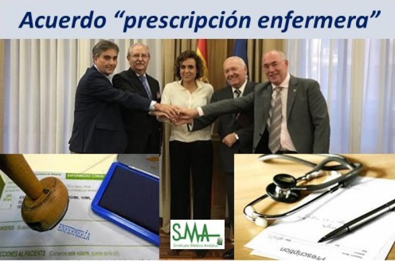 Los profesionales llegan a un acuerdo sobre 'prescripción' enfermera.
