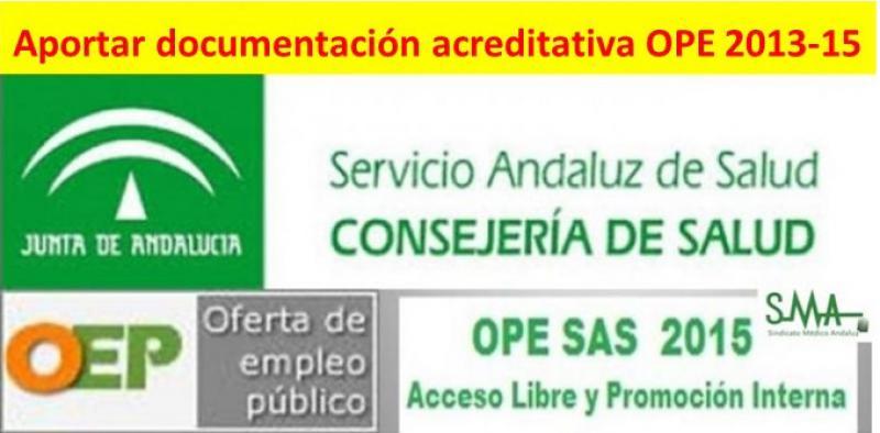 Publicados en el BOJA los listados de opositores a quienes se les requiere presentar documentación para la OPE 2013-2015.