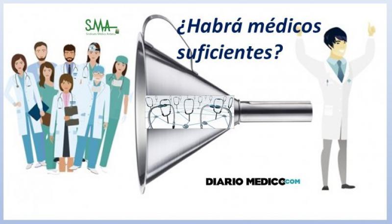 ¿Faltan o sobran médicos?
