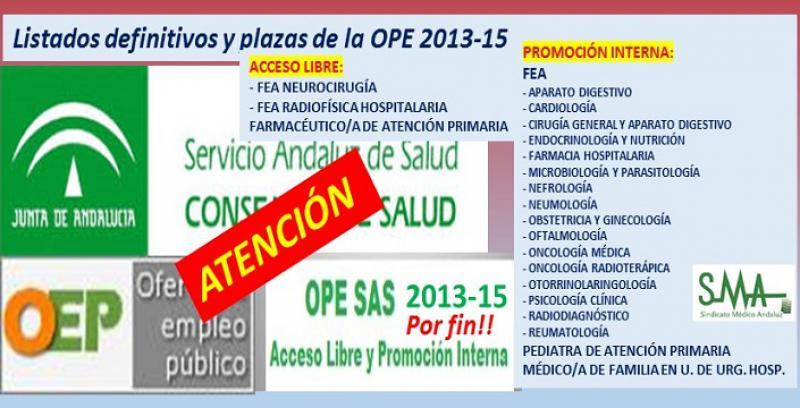 Publicadas en Boja después de 3 años y medio de la convocatoria, las primeras plazas fijas de la OPE 2013-15.
