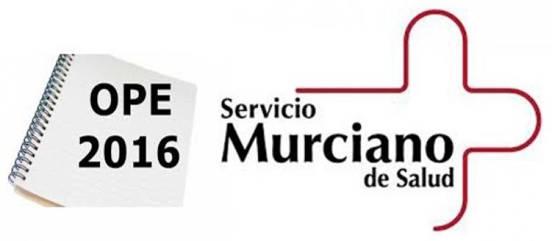 Murcia publica su OPE sanitaria para 2016 con 93 plazas para FEA en acceso libre.