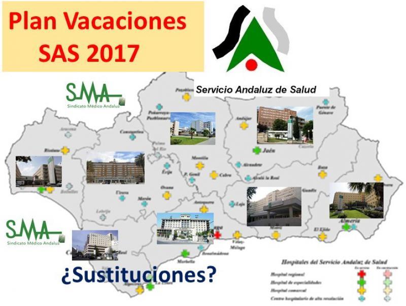 El SAS presenta su plan de vacaciones 2017 a la prensa, con muchos datos.